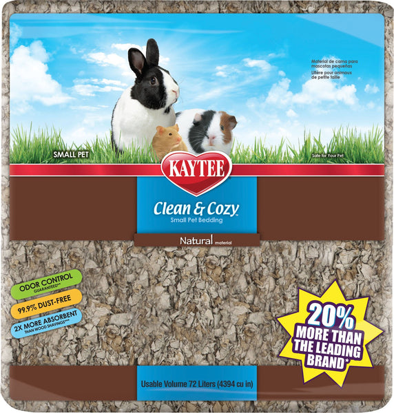 Kaytee Products Inc - Kaytee Clean And Cozy Natural