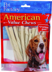 Pet Factory Inc - American Beefhide Twist Sticks Value Pack