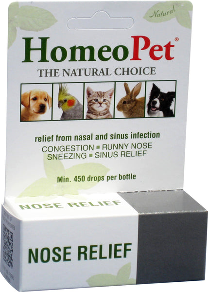 Homeopet Llc - Nose Relief