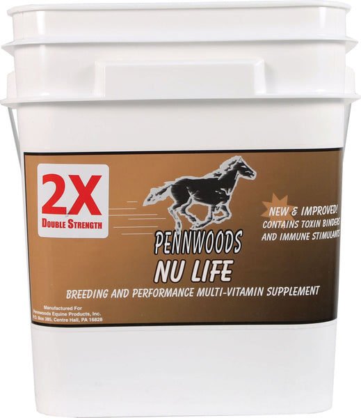 Pennwoods Equine Products - Nu Life 2x Breeding And Vitamin Horse Supplement