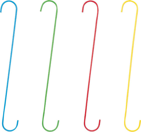 Panacea Products - Hd Vibrant Assorted Color S Hooks (Case of 24 )