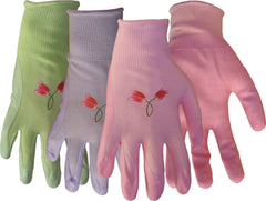 Boss Manufacturing      P - Nylon Knit Nitrile Palm Gloves For Women (Case of 12 )