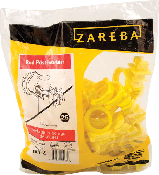 Woodstream Zareba - Zareba Screw-on Rod Post Insulator