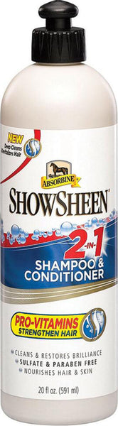 W F Young Inc - Absorbine Showsheen 2-in-1 Shampoo & Conditioner
