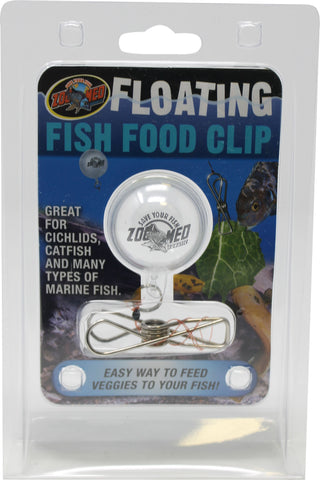 Zoo Med Laboratories Inc-Floating Fish Food Clip