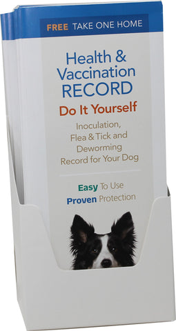Durvet - Pet            D - Dog & Puppy Health & Vaccination Records