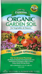 Espoma Company - Soils - Organic Garden Soil For Vegetables And Flowers