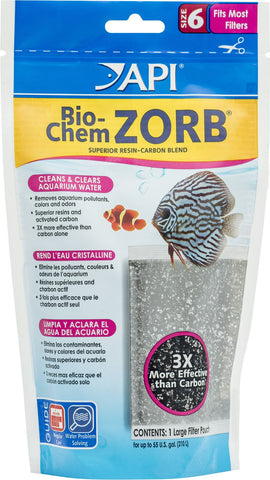 Mars Fishcare North Amer - Bio-chem Zorb Pouch
