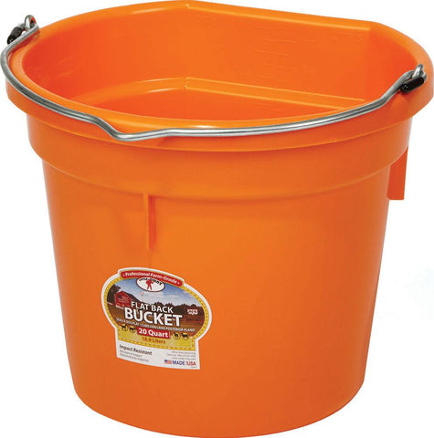 Miller Mfg Co Inc       P - Little Giant Plastic Flat Back Bucket