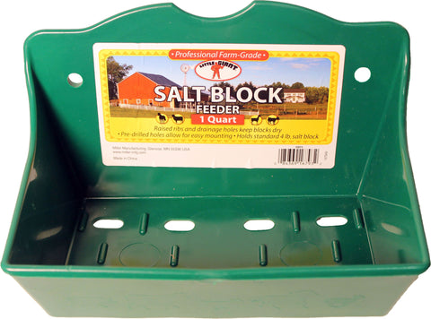 Miller Mfg Co Inc       P - Salt Brick Holder Flat Poly