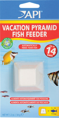 Mars Fishcare North Amer - Vacation Pyramid Fish Feeder