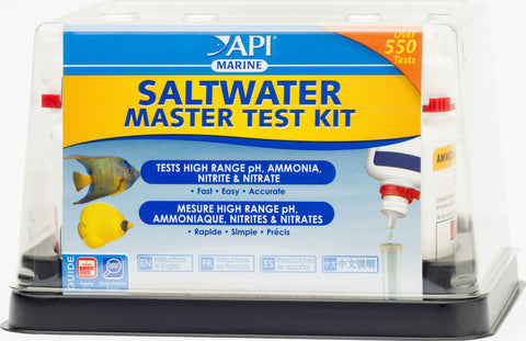 Mars Fishcare North Amer - Saltwater Master Test Kit
