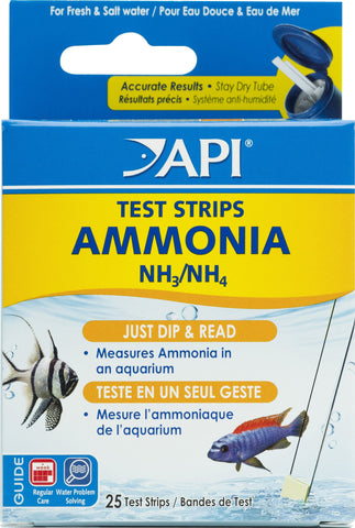 Mars Fishcare North Amer - Ammonia Aquarium Test Strips