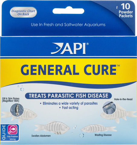 Mars Fishcare North Amer - General Cure Powder Packet