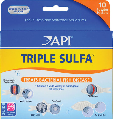 Mars Fishcare North Amer - Triple Sulfa Powder Packets