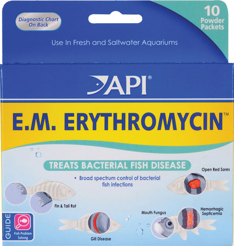 Mars Fishcare North Amer - Em Erythromycin Powder