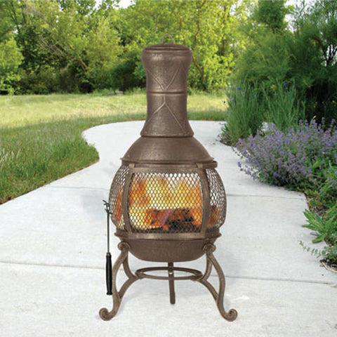 Hookery - Chiminea Cast Iron Corona