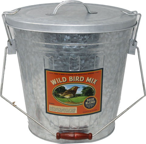 Audubon/woodlink - Rustic Farmhouse Seed Storage Bucket W/scoop