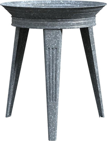 Audubon/woodlink - Rustic Farmhouse Galvanized Metal Bird Bath