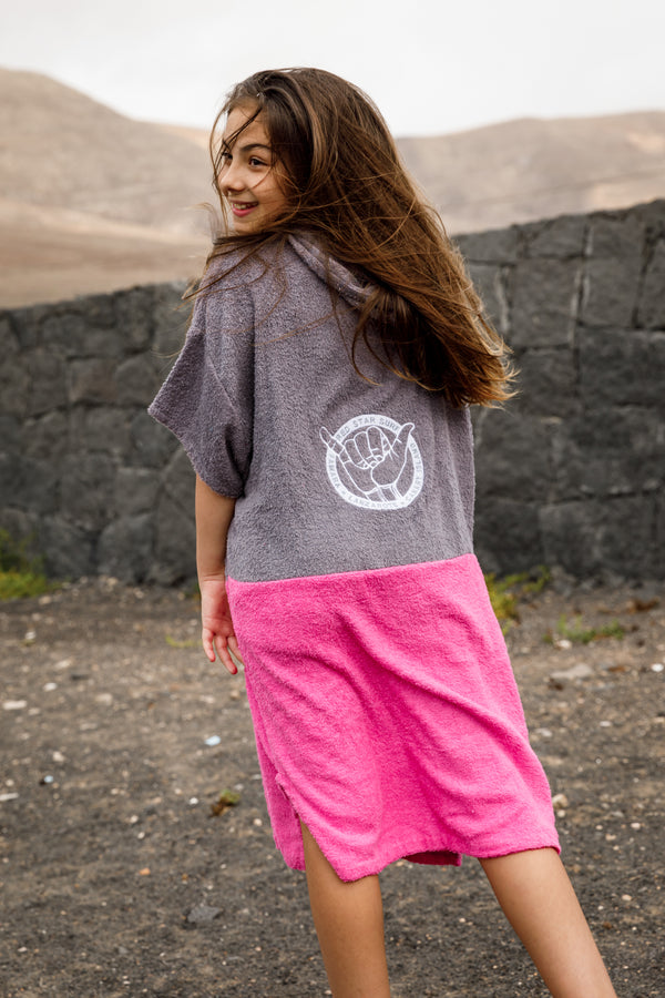 Red Star Surf Poncho - Toalla con capucha de Kids