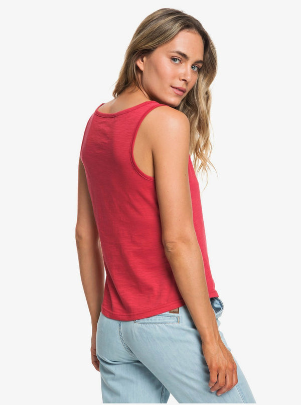 Roxy Red Lines Camiseta