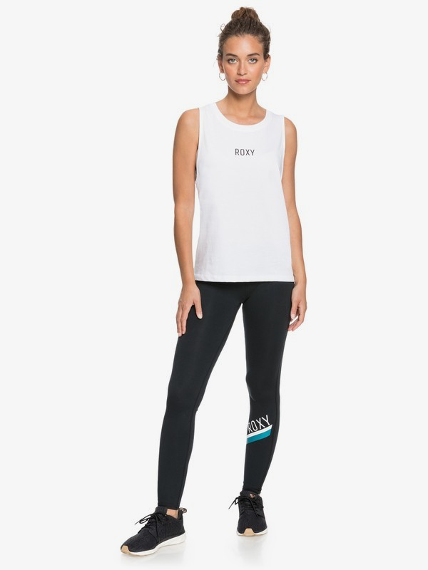 Roxy Work This Time Leggings de Entrenamiento de Largo Normal para Mujer