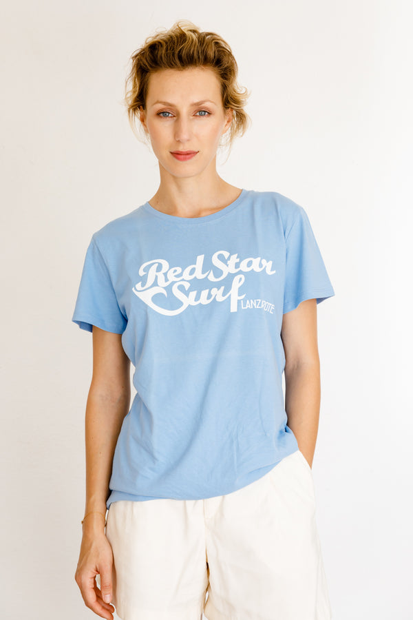 Red Star Surf - Camiseta de Mujer