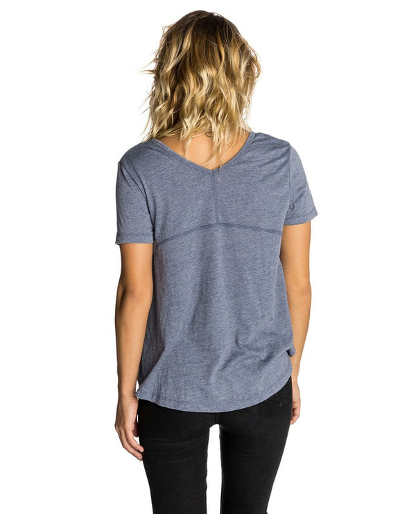 Rip Curl Camiseta Mujer First Light Pocket Tee