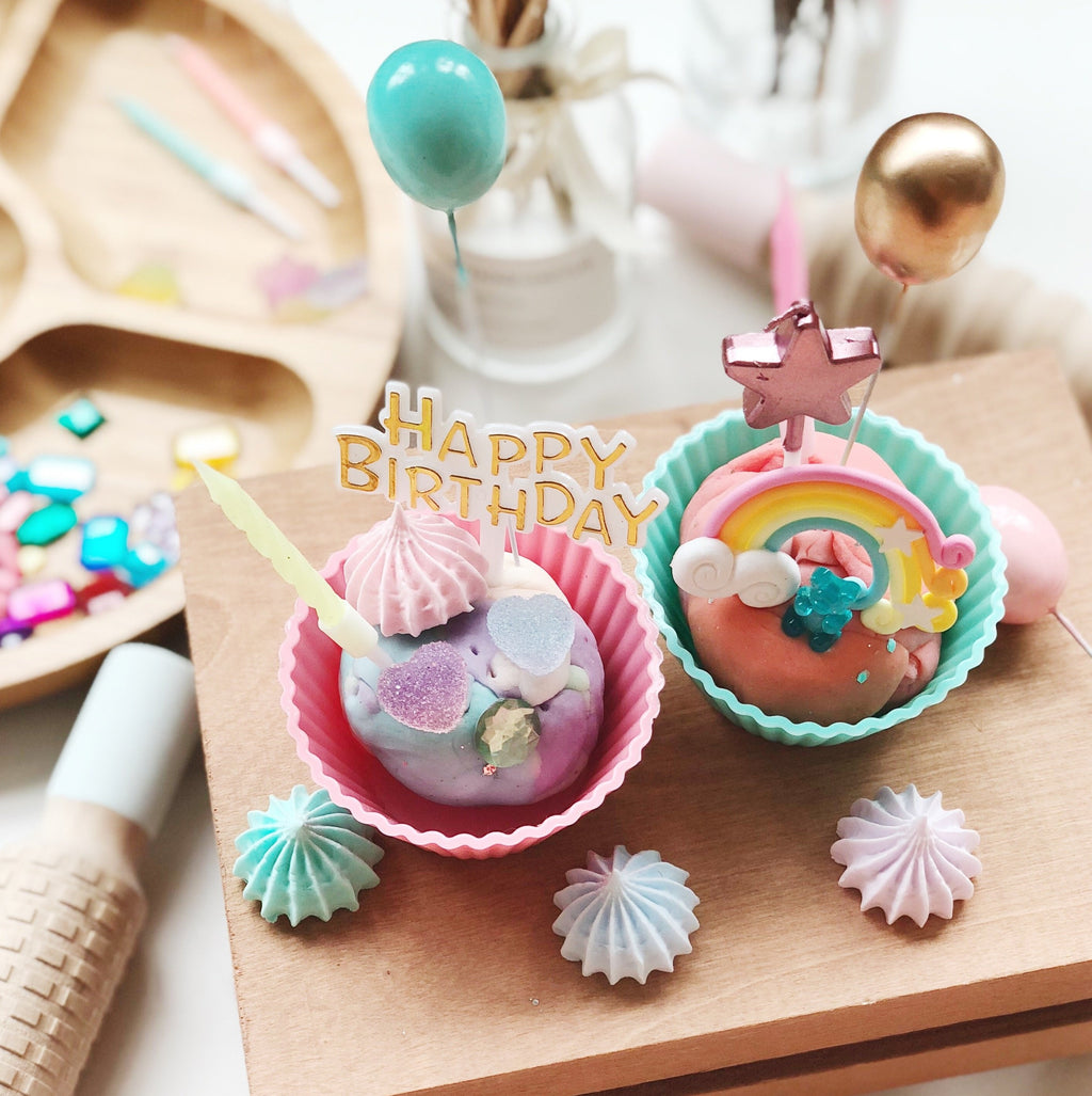 Birthday Cupcakes Play Dough Creation Kit