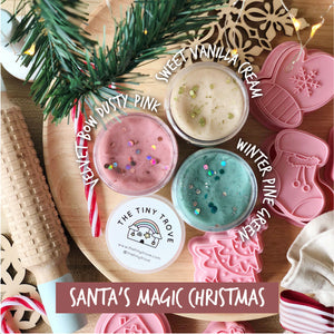 Santa's Magic Christmas Play Dough Set (Limited Time Only!)