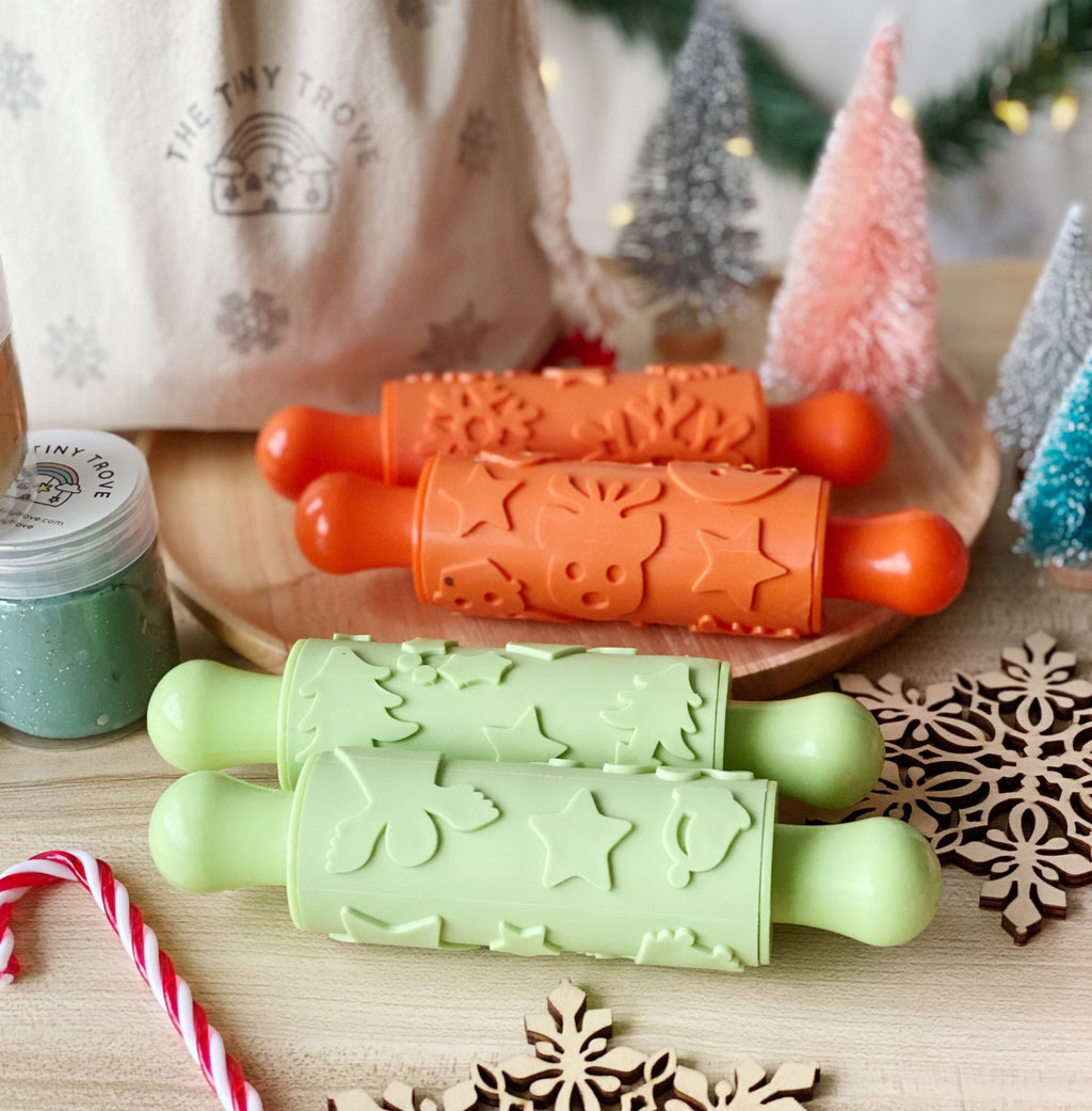 Christmas Textured Rollers