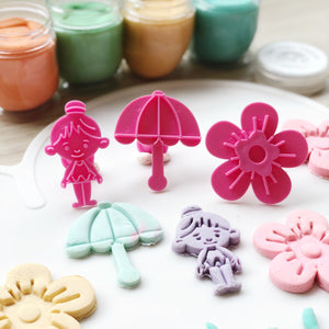 Dancing in the Rain Ballerina Cutters Set