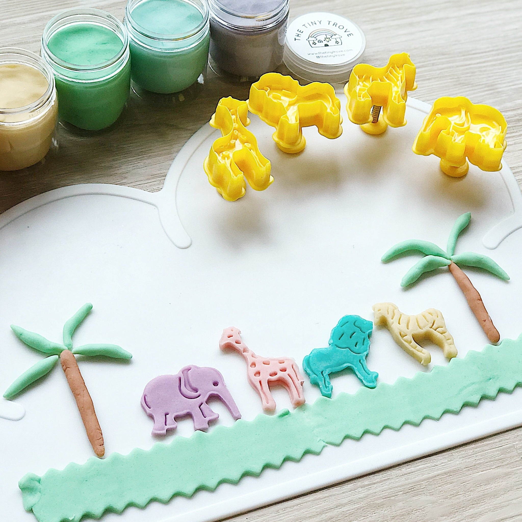 Animal Plunger Cutters Set