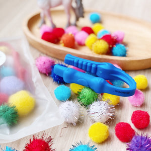 Tweezer and Pom Pom Set