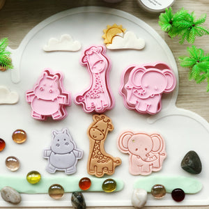 My Little Zoo Animal Cutters Set