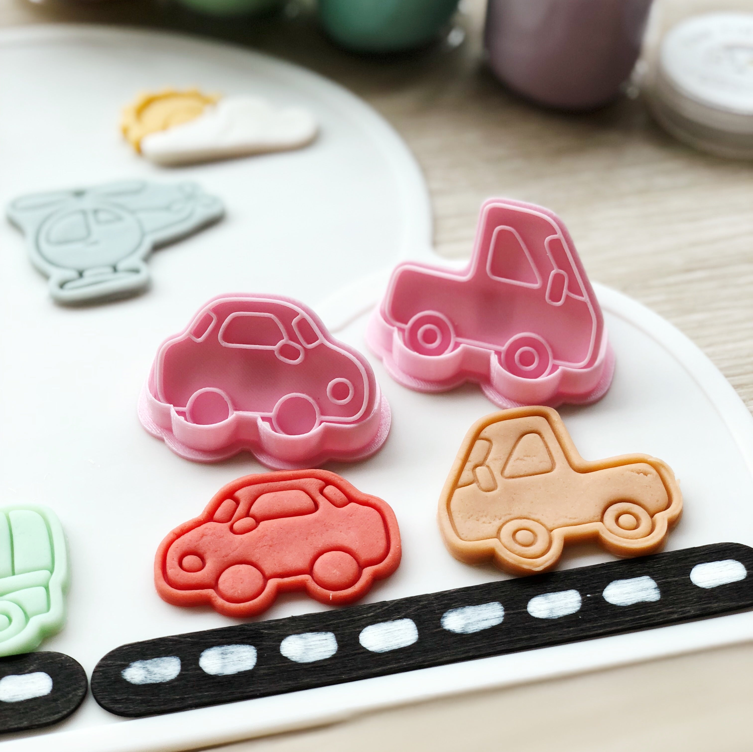 My Little Vehicle Cutters Set