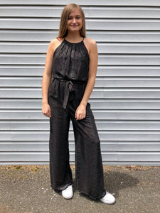 Subtle Snakeskin Jumpsuit by Lush