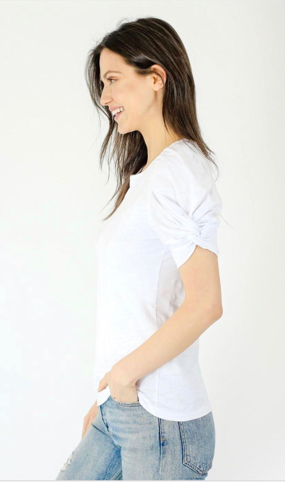 Not Your Basic Sleeve Tee