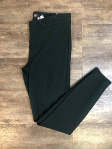 Hunter Green Ponte Pant