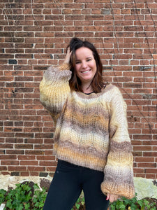 Roasted Spice Chestnut Sweater
