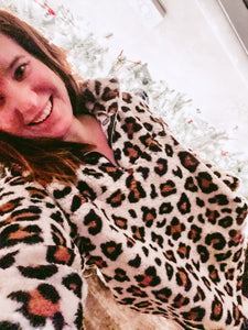 Oh my Leopard Fleece