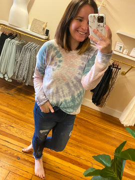 Keeping Things Chill Tie Dye Top