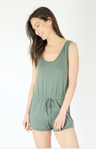 French Terry Tank Romper