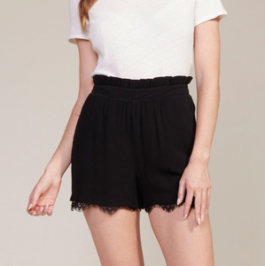 Senorita Black Shorts