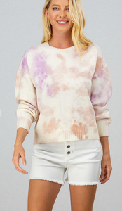 All Warmed Up Tie Dye Sweater