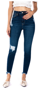 Marcella High Rise Ankle Skinny