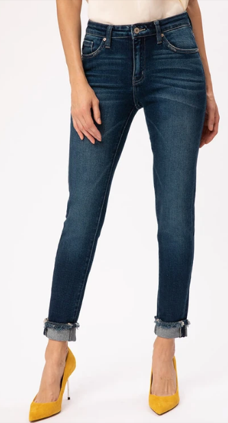 Tiffany Mid Ride Ankle Skinny
