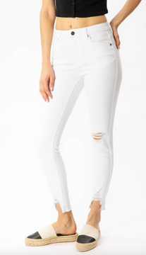 Kendra High Rise Ankle Skinny Jeans