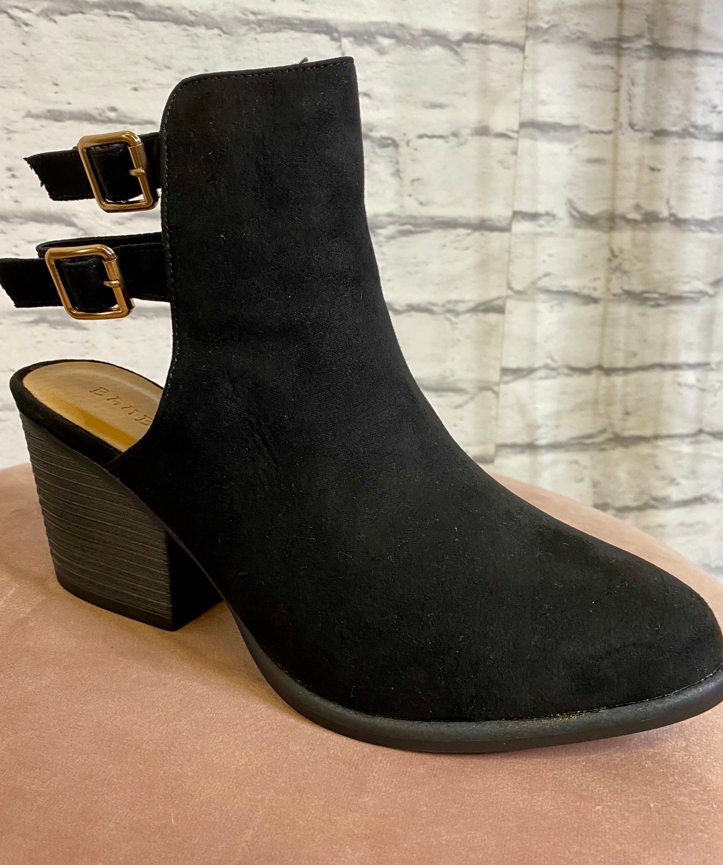 Rancher Bootie Black