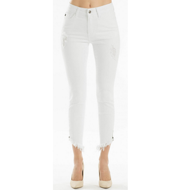 Summer Breeze White Jeans